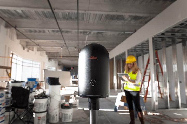 leica blk360 en construcción