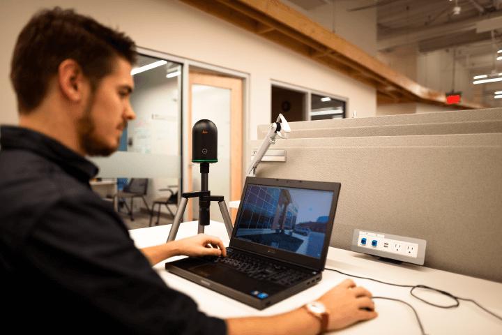 leica blk360 conectado a computadora
