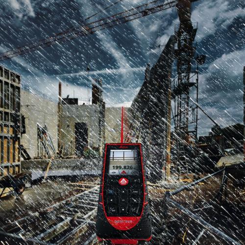 leica d510 en lluvia