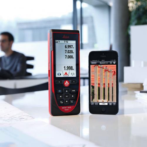 leica d810 conectando con smartphone