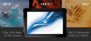 SRT10W resistente al polvo, temperatura de trabajo entre -20 celsius y 55 celsius