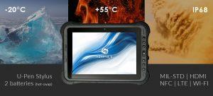 UT50 Calidad, desde -20 a +60 grados celsius